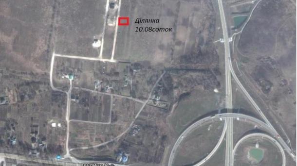 """Ділянка 10сот масив""""Газовик"""""""