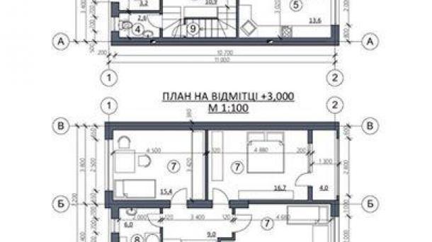 Котеджі - 132 м2, вул. В. Мономаха