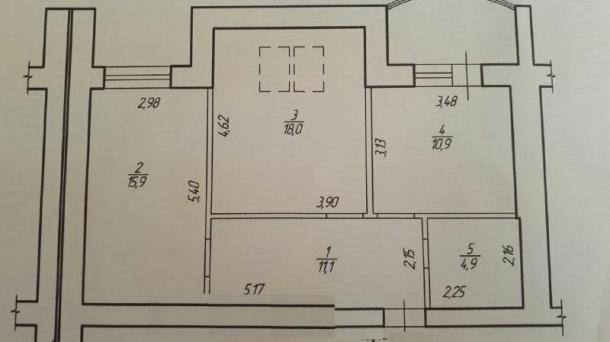 1-кімнатна квартира по ціні 2-кімнатної